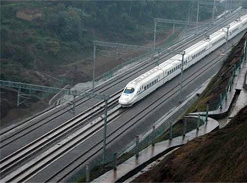 改建鐵路遂寧至重慶線增建第二線工程